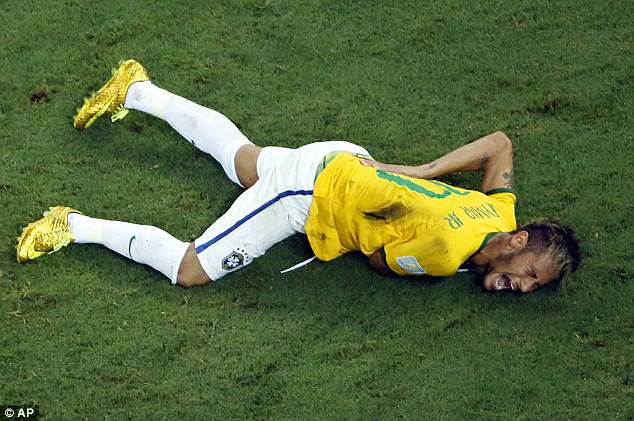 The Brazil star had his 2014 tournament ended by a fractured vertebrae in the quarter-final