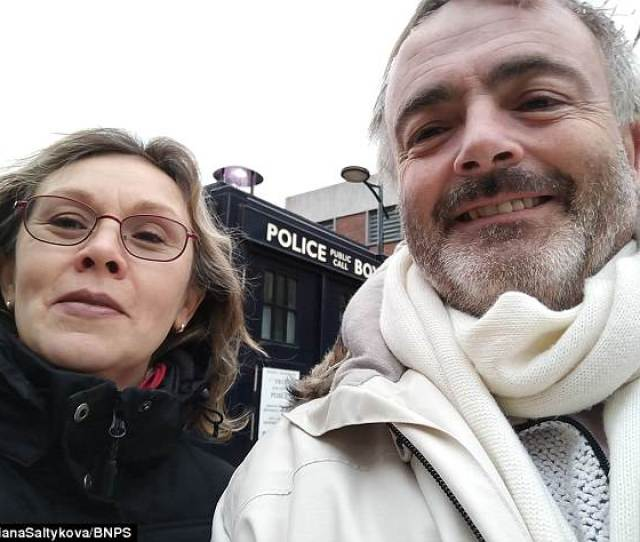 Father Of Five Kevin Keeler Pictured With His Partner Of Two Years Tatiana