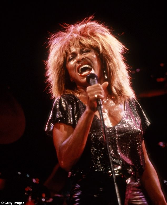 How it was: The veteran singer appeared to have barely aged since her heyday (pictured, in 1985)