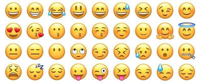 Emoji were first used by Japanese mobile phone companies in the late 1990s to express an emotion, concept or message in a simple, graphic way. Now, Twitter feeds, text messages and Facebook posts are crammed with them