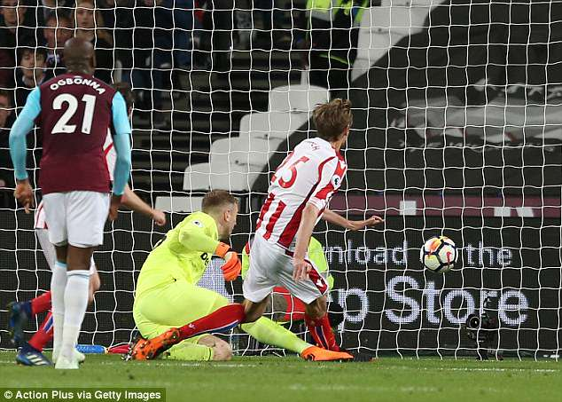 Experienced goalkeeper Joe Hart damaged his own chances of making squad with an error