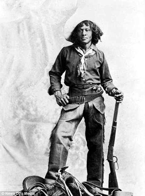 Nat Love, an African-American cowboy and former slave, pictured circa 1900. Nat Love was the most famous black hero of the Old West largely down to his self-reported exploits in his autobiography. Nat taught himself how to read and write  he tells how he moved to Dodge City, Kansas to work as a cowboy where he fought cattle rustlers and met Pat Garrett and Billy the Kid