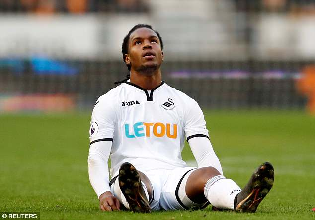 Renato Sanches has returned to first-team training with Swansea after a hamstring injury