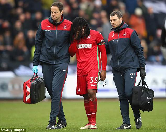 Sanches has been back at Bayern Munich receiving treatment for his hamstring injury