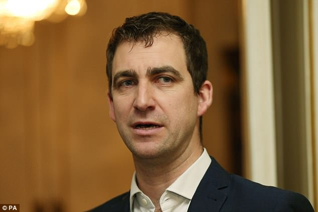 Brendan Cox, pictured, was policy director with Save the Children until his resignation in 2015