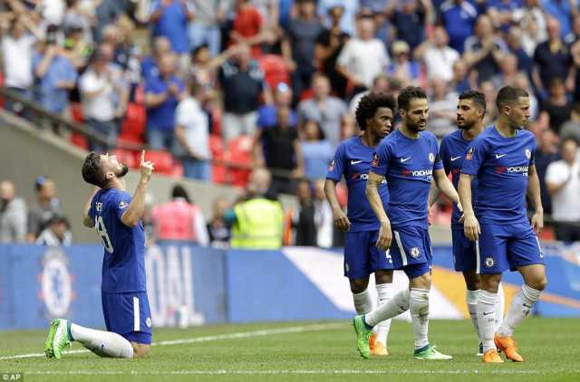 Chelsea eased into the FA Cup final after goals from Olivier Giroud and Alvaro Morata saw them beat Southampton 2-0