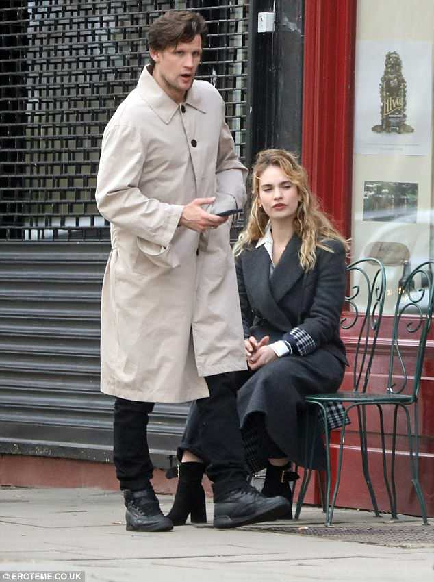 Candid:Lily recently denied that the pair were engaged but noted the rumours that they might have been after she wore a ring on her engagement finger at the BAFTAs