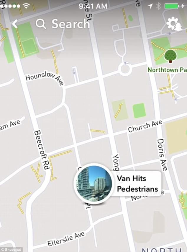 El alcance de las lesiones no se confirma después de que la camioneta atacó a diez personas en Yonge St. cerca de Finch Ave, Toronto (en la foto)