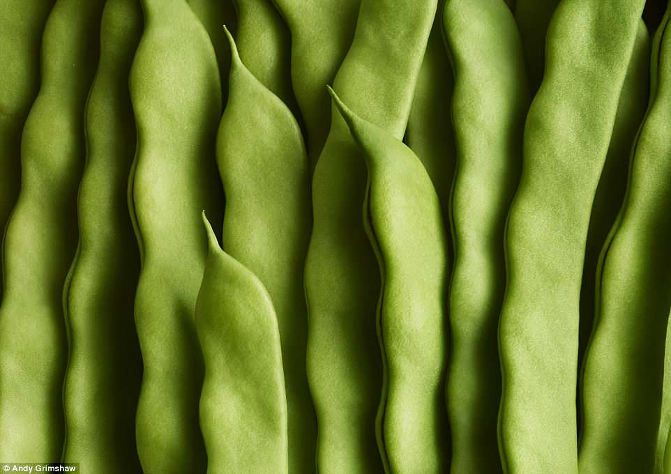 Andy Grimshaw won theOne Vision Imaging Cream of the Crop for his stunningly detailed macro image of green beans, which look almost abstract