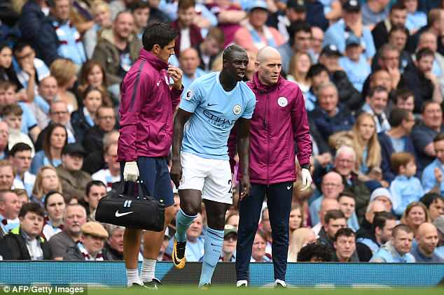 Mendy has missed almost the entire season after suffering a knee injury against Crystal Palace