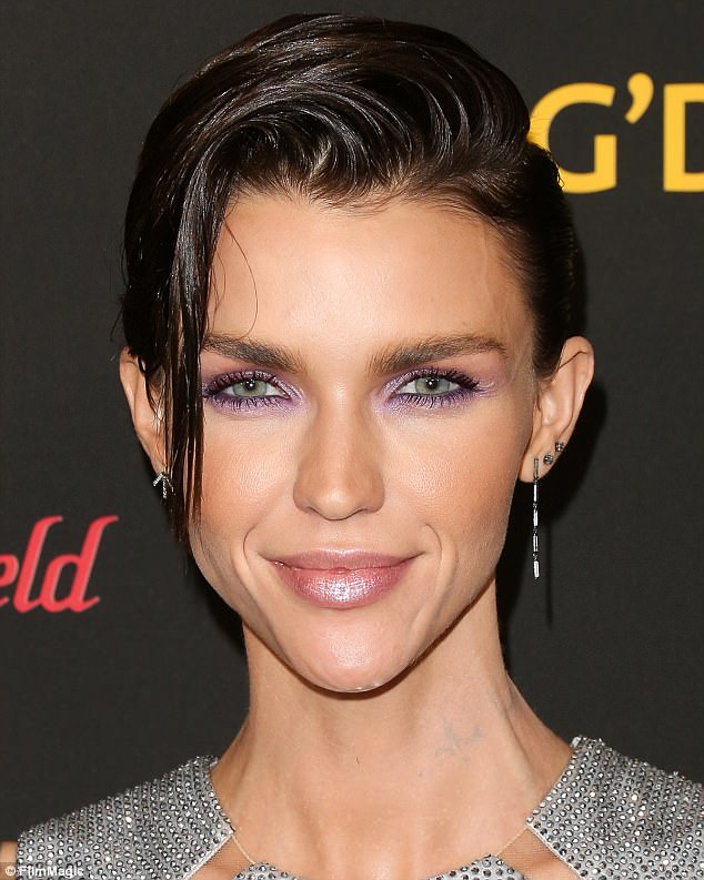 Ruby Rose Reveals Beauty Trick For Dry Hair Using An