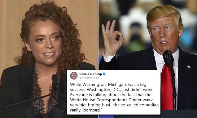 Image Result For Michelle Wolf Slams Trump At The White House Correspondents Dinner Us News