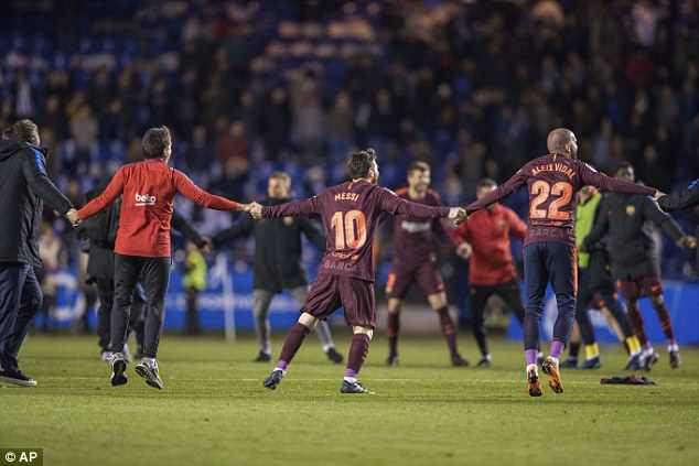 However, Barcelona have the opportunity to go on and complete the season undefeated
