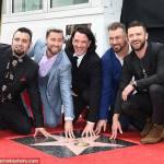 NSYNC finally gets a star on Hollywood Walk of Fame