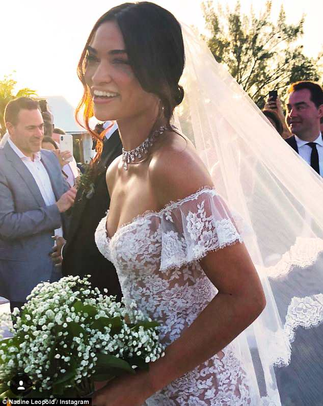 Shanina Shaik Shares First Picture Of Her Wedding With DJ