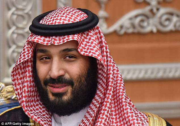In November, the head of Lebanon's Maronite church, Beshara Rai, met King Salman and powerful Crown Prince Mohammed bin Salman (pictured) in a historic visit to Riyadh
