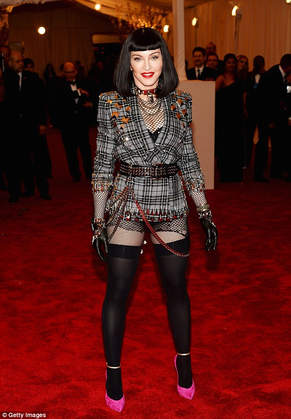 Not so much...While she stayed true to the theme, Madonna's 2013 Met Gala was veering on the side of fancy dress