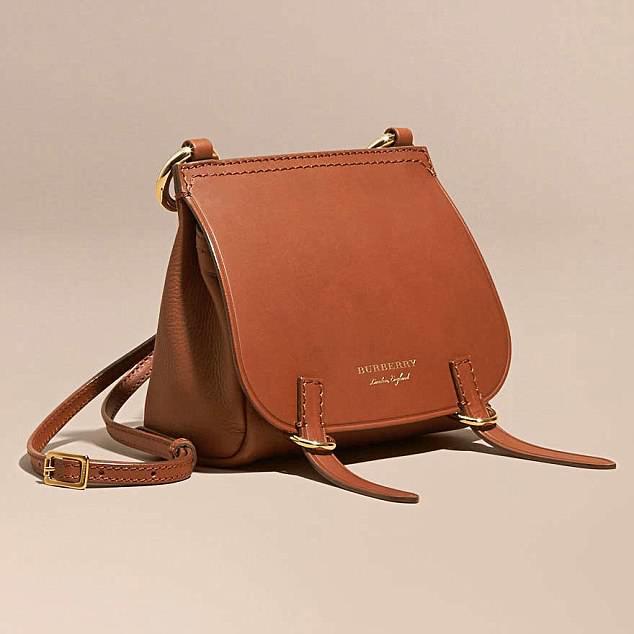 Horseplay: Burberry Baby Bridle bag, £595