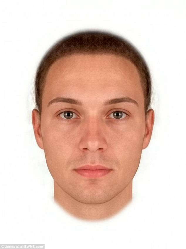The same images were altered to look more feminine, with narrower eyebrows and noses