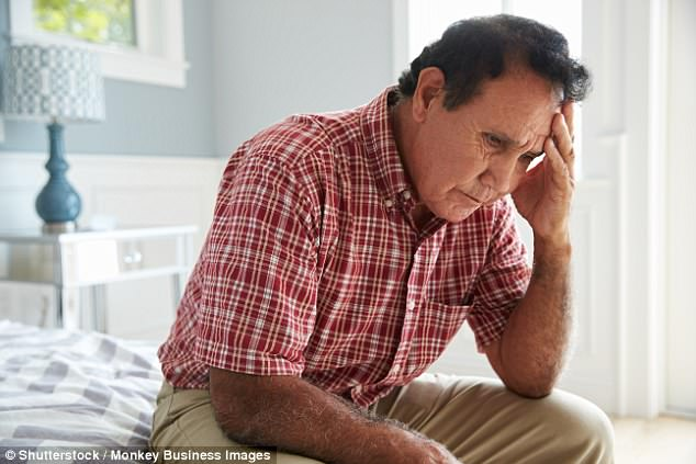 People who are widowed, struggle to sleep, and have low weight in their 50s and 60s have a much higher risk of developing the disease down the line, Boston University found