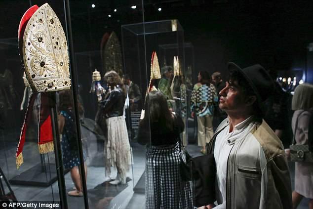 Some of Vatican's artifacts in Met Gala 2018.