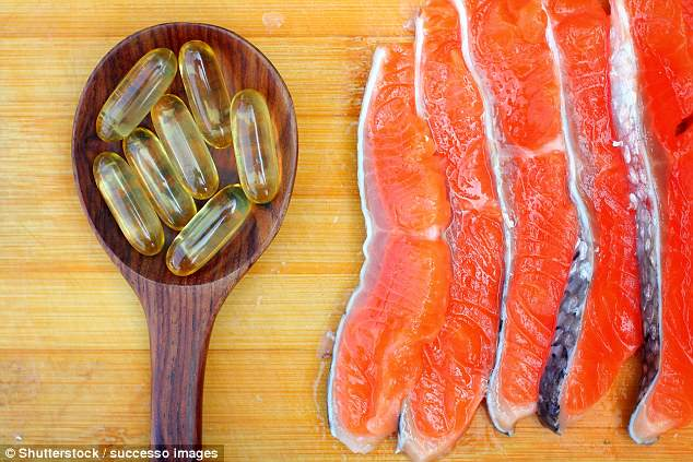 Fish-oil supplements significantly reduce discomfort by easing inflammation (stock)