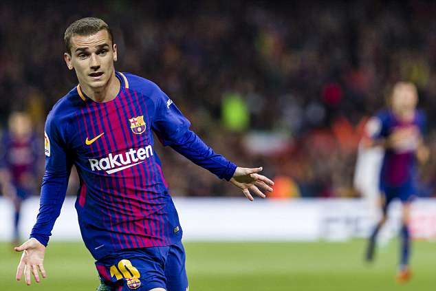 Antoine Griezmann is heading to Barcelona as a replacement for PSG superstar Neymar –  here's how he will look in their famous blue and red shirt