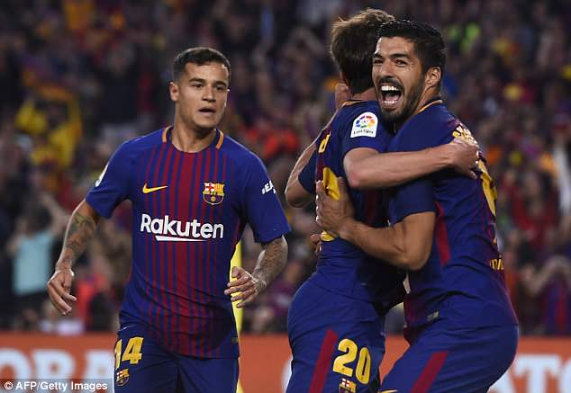 Philippe Coutinho will fill the void left by Andres Iniesta when the legend leaves Barcelona