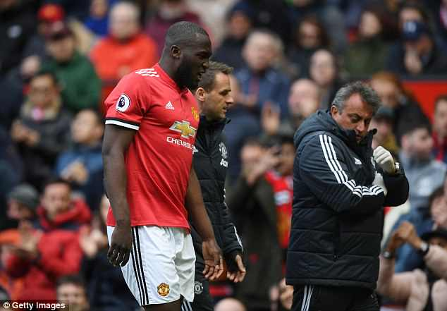 Romelu Lukaku will miss Manchester United's remaining two Premier League games