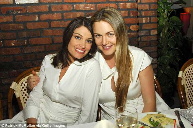 Guilfoyle is pictured here with Vanessa Trump at a party in New York City in 2007. The Trump family has given Kim the seal of approval, the source added