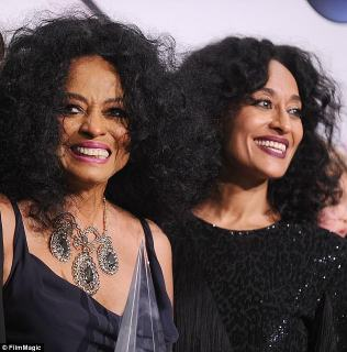 Perfect: They paid homage to the iconic singer and her Blackish star daughter