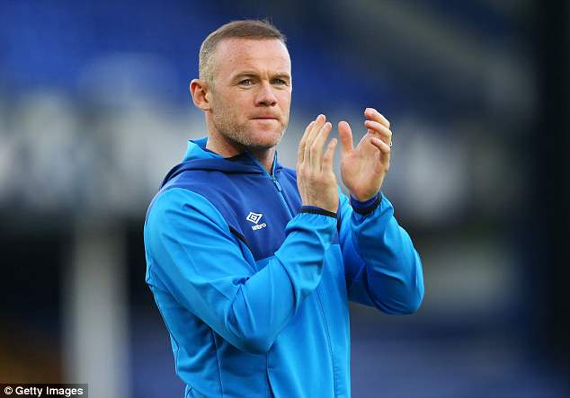 Wayne Rooney has said goodbye to his Everton team-mates ahead of his move away