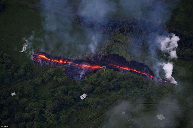 Tina Neal, the scientist in charge of the U.S. Geological Survey's Hawaiian Volcano Observatory, described 'spatter that is flying tens of meters into the air'