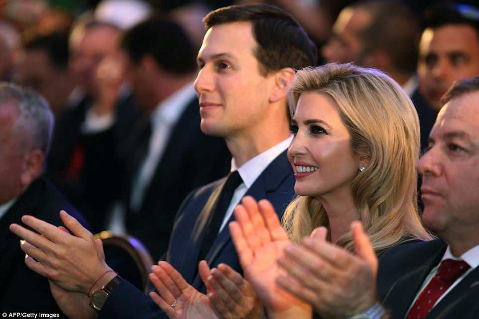 White House advisers Jared Kushner and Ivanka Trump reportedly received a blessing from a rabbi who previously compared black people to monkeys