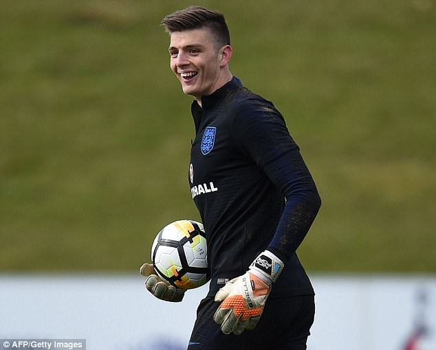 Nick Pope is thrilled just to be considered for a place in England's World Cup squad