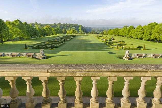 Its grand grounds includes the outdoor pool where Profumo met Keeler and started a brief affair that cost him his reputation and career and enjoys beautiful views of the Berkshire countryside
