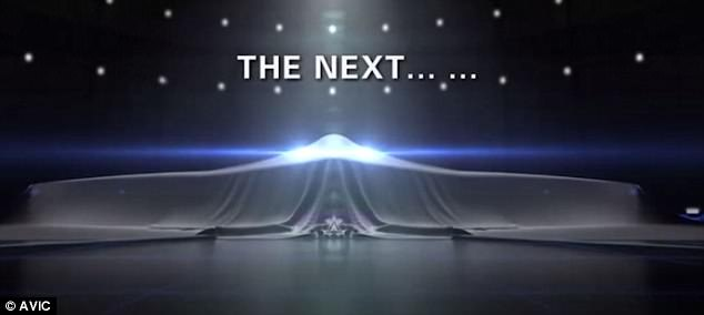 China's state run Aviation Industry Corporation of China, or AVIC, has teased what could be the first images of its long-awaited H-20 stealth bomber.The final few seconds of the video bear a striking resemblance to the US model, and the caption 'The next...' appears in English