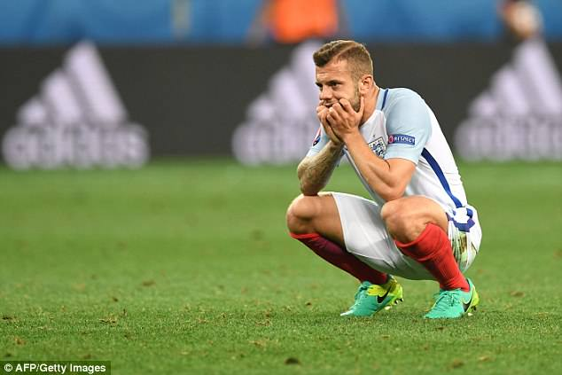 Jack Wilshere joked he will go on a lads' trip after missing out on England's World Cup squad