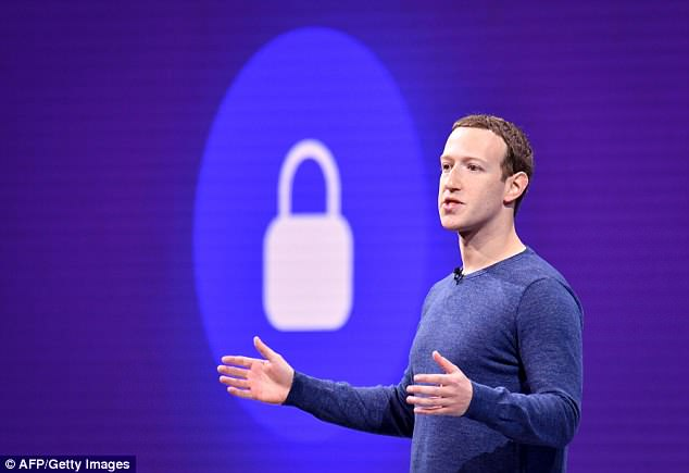 Facebook CEO Mark Zuckerberg (pictured) has pledged to hire more human moderators to take down content that spreads hate speech, propaganda or terrorism
