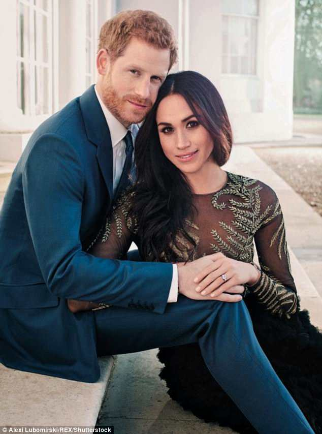 It is not yet known what song Harry (left) and Meghan (right) will chose for their first dance