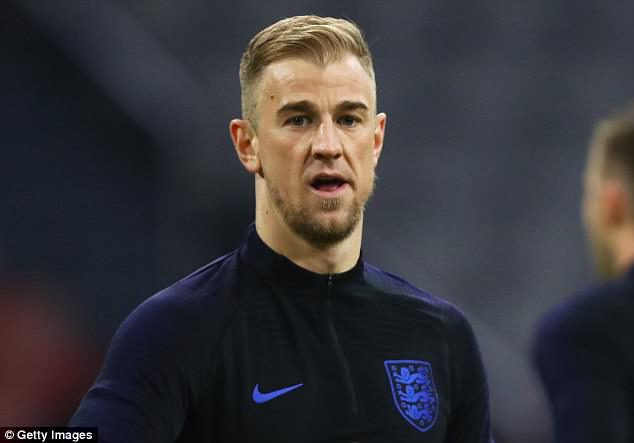 Goalkeeper Joe Hart, pictured on England duty in March, will not go to this year's tournament