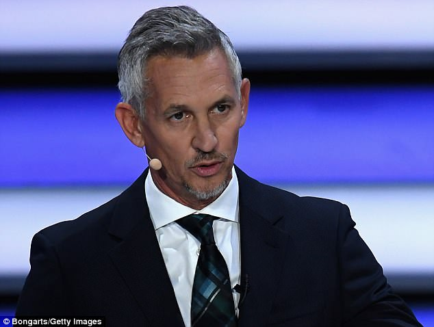 Gary Lineker (above) does not think that Gareth Southgate's England have a chance in Russia