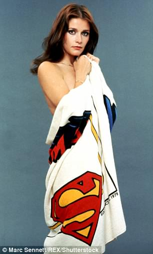 She played the part of a pinup for the Superman films