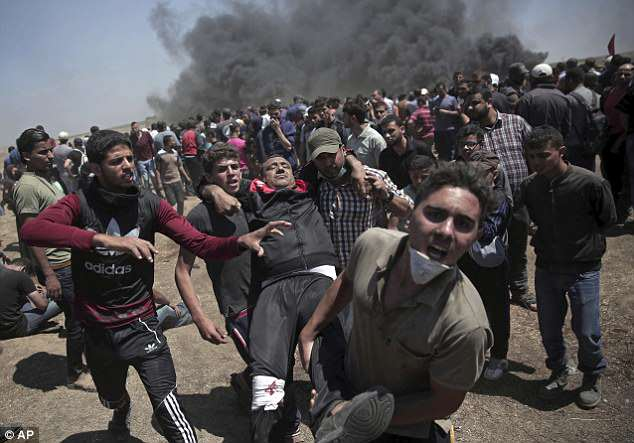 With violent protests and more than 50 Palestinians shot dead by Israeli troops, the reaction has been as explosive and brutal as everyone feared