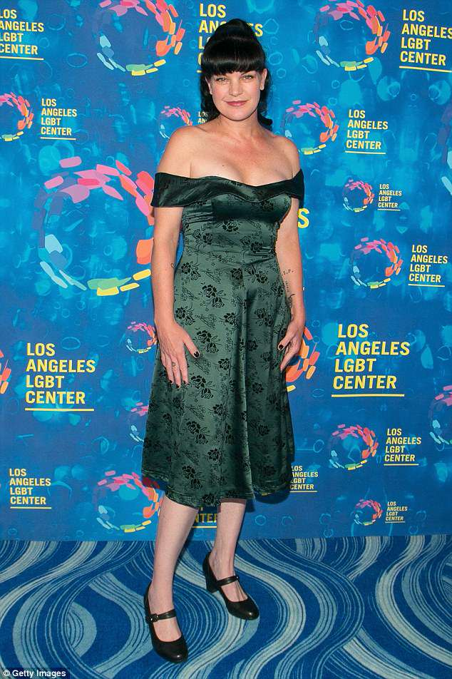 'Pauley came to us with a workplace concern': CBS has responded to Pauley Perrette's claim that 'multiple physical assaults' was the reason behind her exit from NCIS (pictured September 2016)
