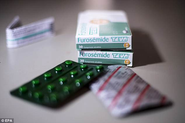 Cano, 35, tested positive for furosemide (pictured), which the baseball star claims he was given by a licensed doctor in the Dominican Republic