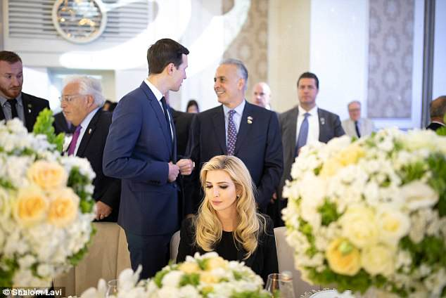 The trip to Israel gave Kushner and his wife, Ivanka Trump, an opportunity to serve as the face of the administration