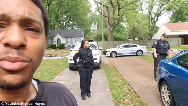 The woman called the police on Hayes. He said the woman thought he was trying to break into the house, even though he told her he was there to inspect it