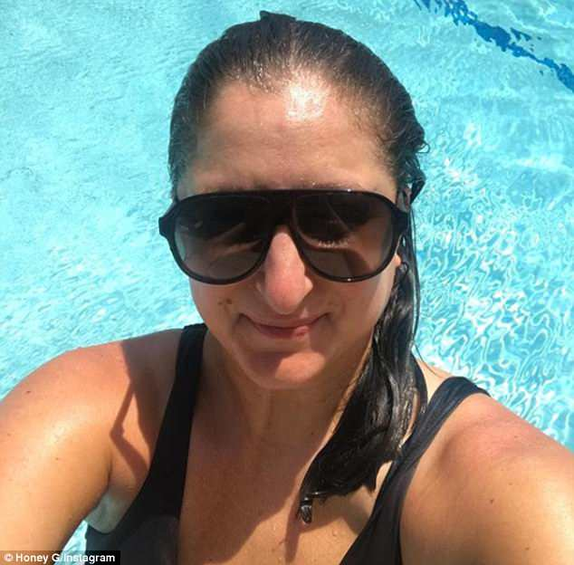 Looking good:Honey G has lost almost a stone in just two months andhas revealed her remarkable transformation in a series of Instagram shots after body confidence issues prompted significant changes to her lifestyle