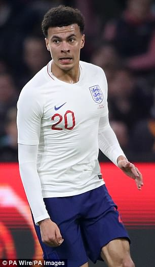 Kane's team-mate Dele Alli will also be chomping at the bit to impress